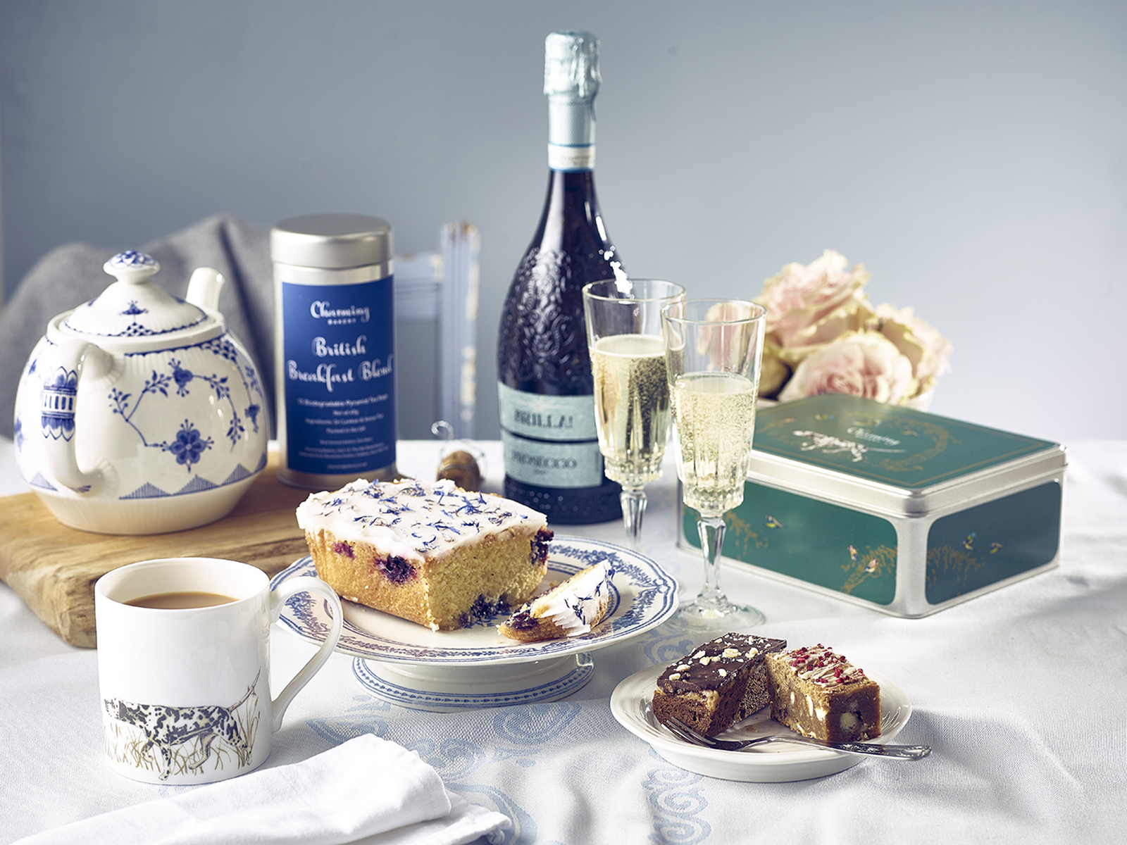 Mother's Day Lifestyle Gift Hamper - Prosecco & Tea