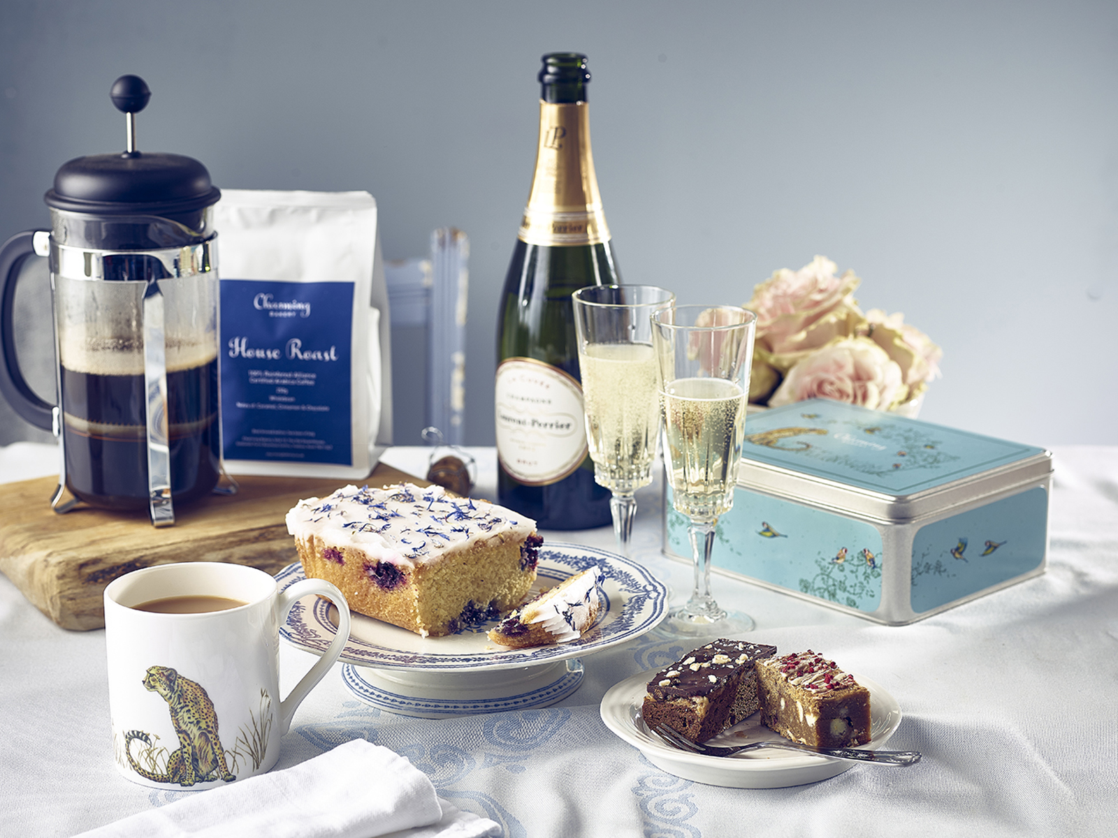Mother's Day Lifestyle Gift Hamper - Champagne & Coffee