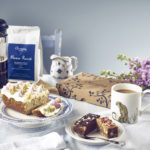 Easter Cake, Coffee and Brownie - Lifestyle shot