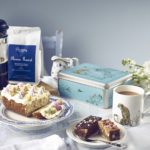 Easter Cake, Tea, Coffee and Brownie - Lifestyle shot