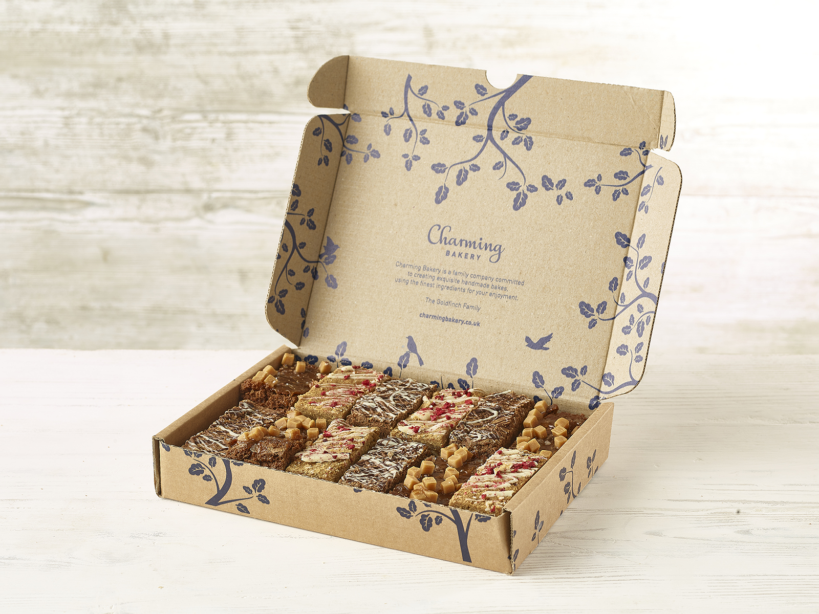 Nut-Free Mixed Brownie Box - Charming Bakery