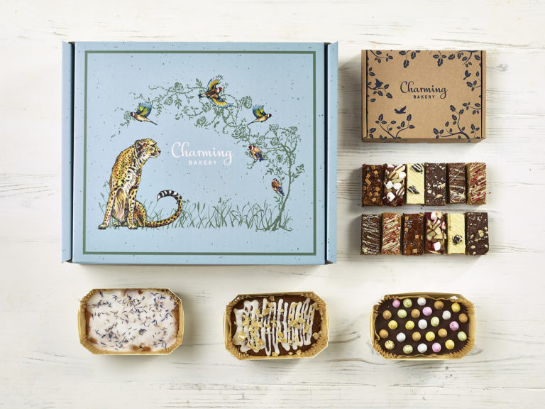 The Decadently Baked Hamper - Cheetah Design - Charming Bakery