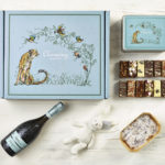 Ultimate Prosecco New Baby Gift Hamper - Cheetah Design - Charming Bakery