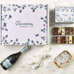 Ultimate Prosecco New Baby Gift Hamper - Leaves Design - Charming Bakery