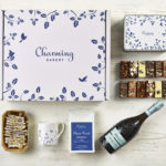 Classic Prosecco & Coffee Gift Hamper - Leaves Design - Charming Bakery